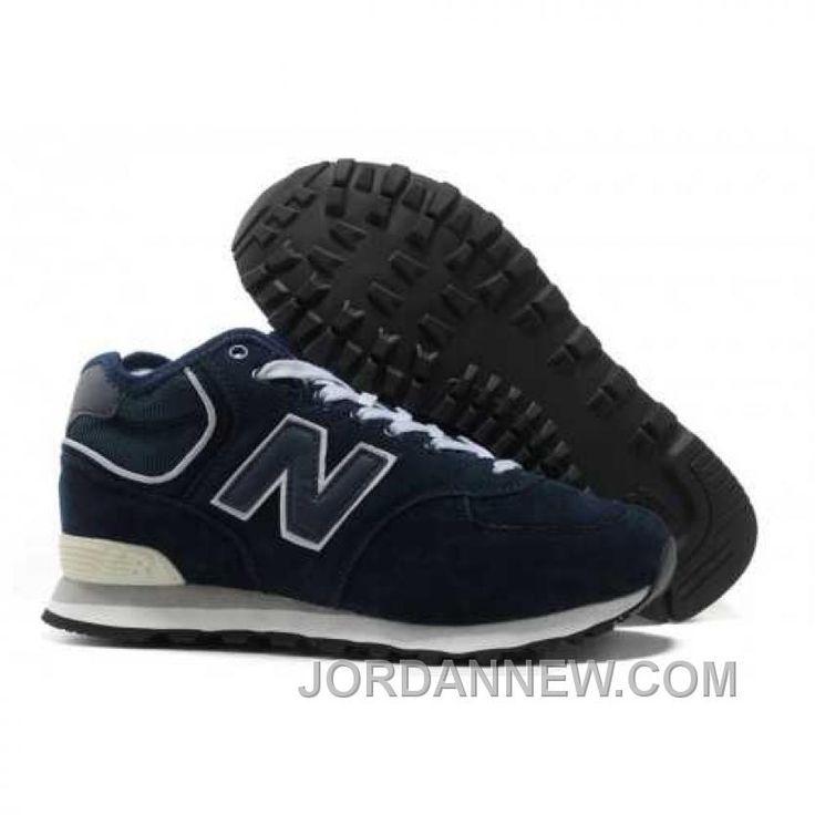 Wholesale Discount New Balance NB middle-cut Suede retro For Men shoes dark  Blue Football Shoes Shop