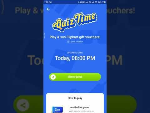 Flipkart Daily Quiz | 28th November 2018 at 8pm all the questions