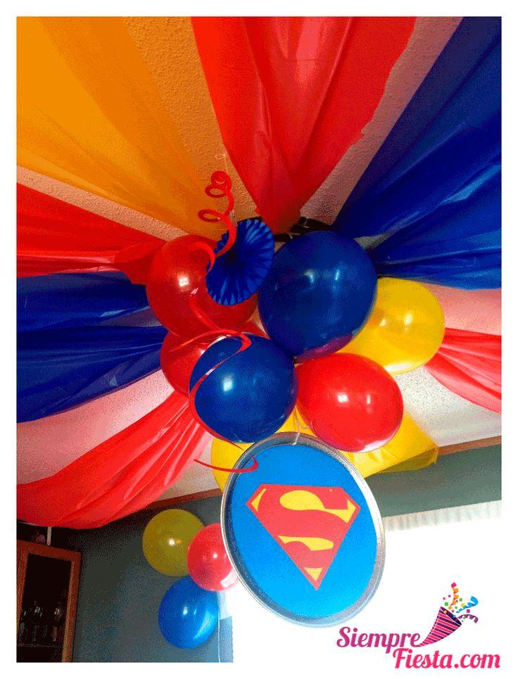 Increíbles ideas una fiesta de cumpleaños con los personajes de la Liga de la Justicia. Encuentra todos los artículos para tu fiesta en nuestra tienda en línea: http://www.siemprefiesta.com/fiestas-infantiles/ninos/articulos-liga-de-la-justicia.html?utm_source=Pinterest&utm_medium=Pin&utm_campaign=Liga%2BJusticia