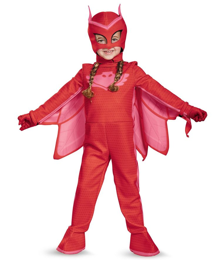 PJ Masks Owlette Deluxe Toddler Costume from Buycostumes.com