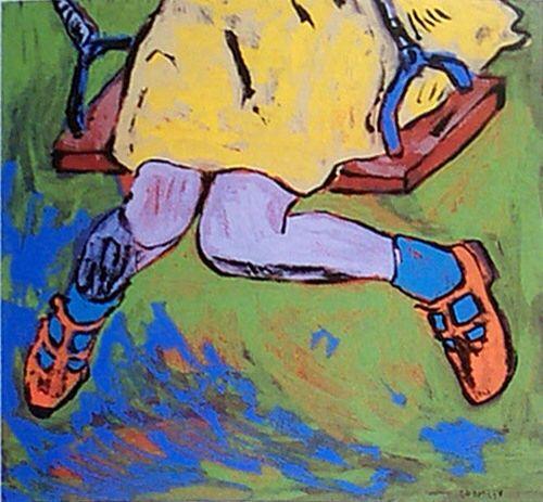 The Swing - David Bromley