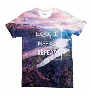 Explore T-shirt www.bittersweetparis.com