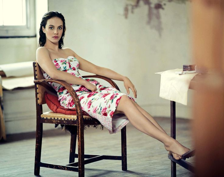 Jessica Brown Findlay by Boo George for Vogue UK May 2014