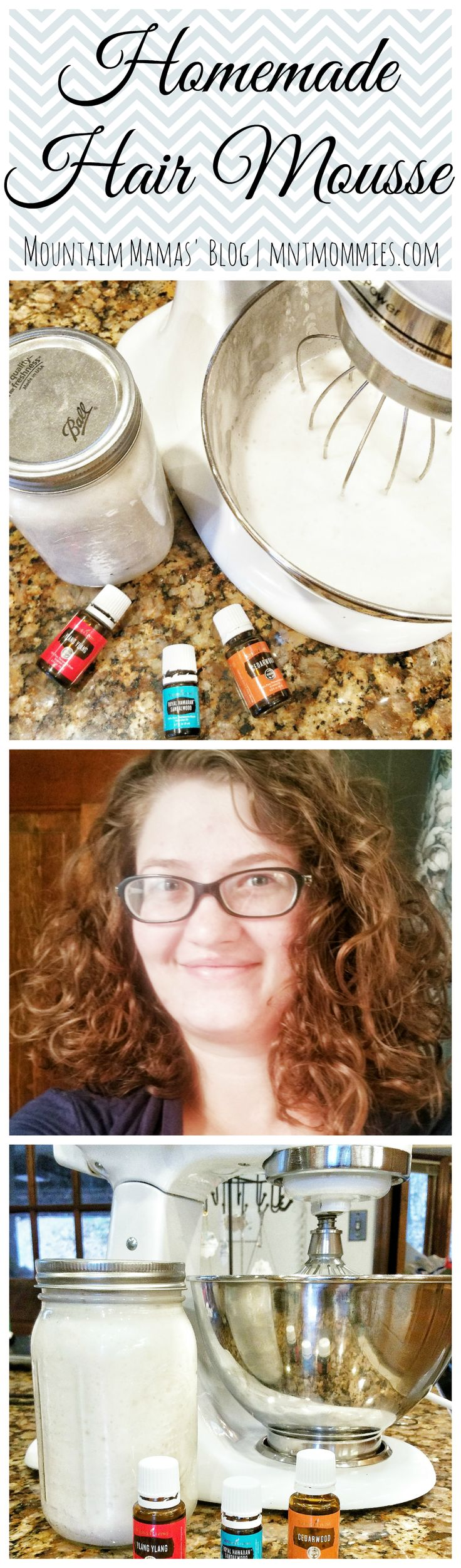 Homemade Hair Mousse | Mountain Mamas' Blog | mntmommies.com