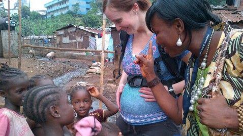 Pregnant doctor Erin Carey finds neglect in Sierra Leone maternity ward