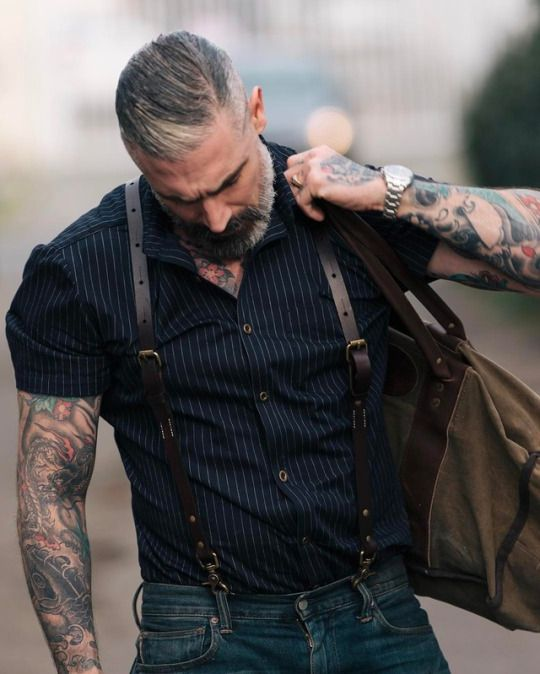Pair up some suspenders to your short sleeve button up for that spring travel!   #dappermenswear  ALL MADE IN THE U.S.A