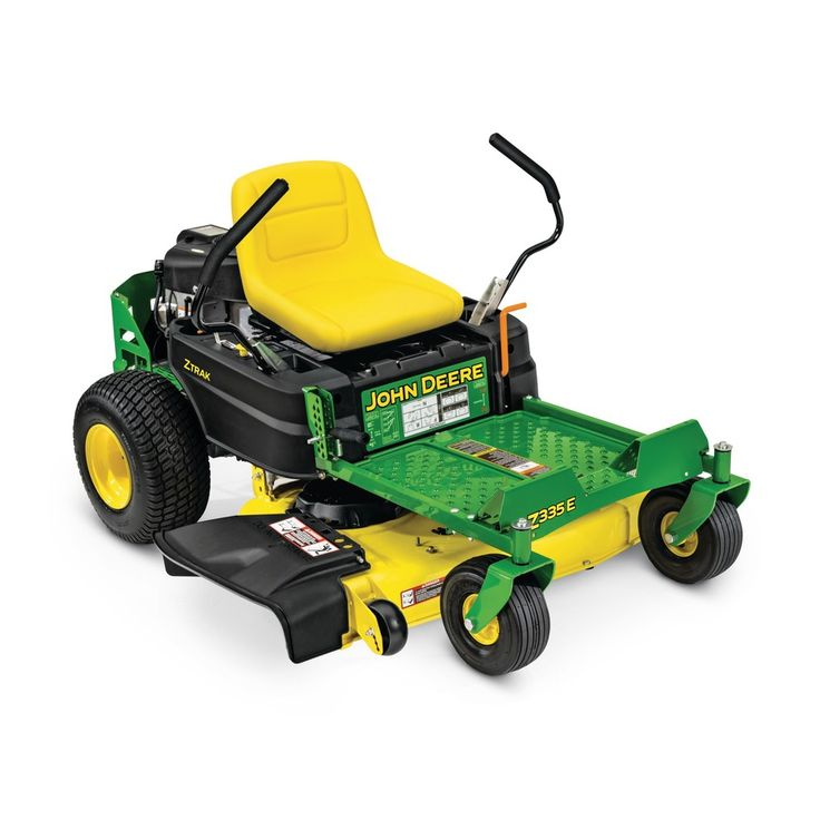 John Deere ZTRAK Z335E 20-HP V-Twin Dual Hydrostatic 42-in Zero-Turn Lawn Mower