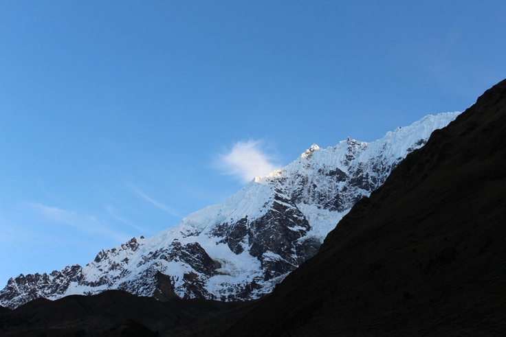 The Salkantay offers a better way to start the morning than most