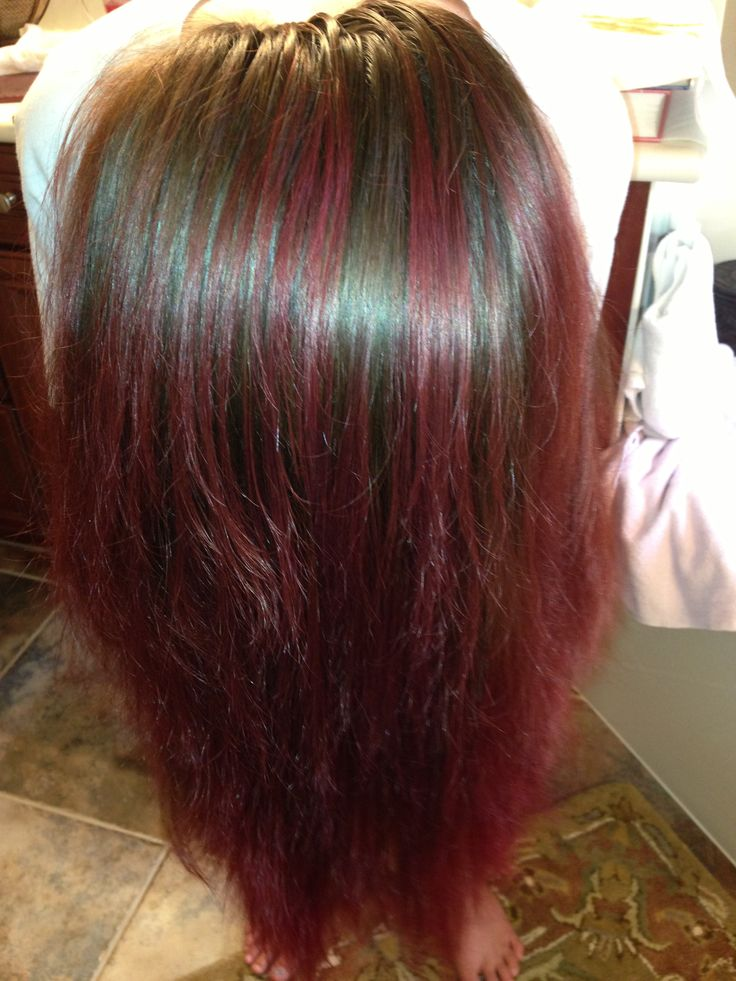 46 Best Kool Aid Dip Dyed Hair Images On Pinterest Colored Hair