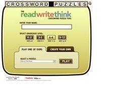 Read Write Think. Créer des grilles de mots croisés pour la classe.