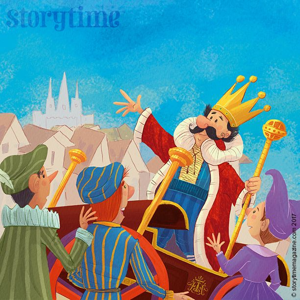 Read The Emperor's New Clothes in all-new Storytime Issue 30! Art by Tel Coelho (http://telcoelho.blogspot.co.uk) ~ STORYTIMEMAGAZINE.COM