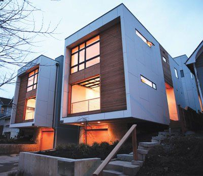 1000 images about modern duplexes on pinterest urban for Building a fourplex