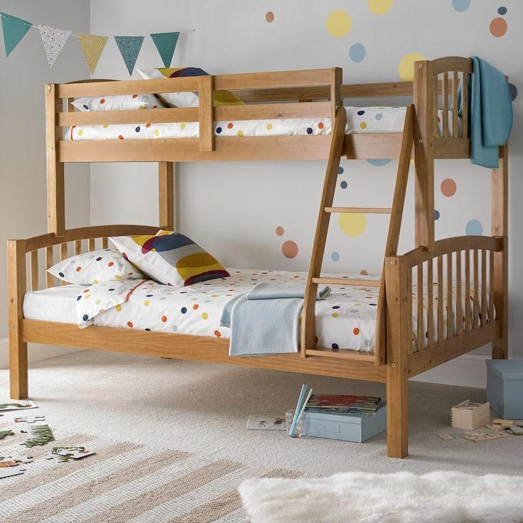 best 25 triple sleeper bunk bed ideas on pinterest pine bunk beds triple bed and 3 bunk beds. Black Bedroom Furniture Sets. Home Design Ideas