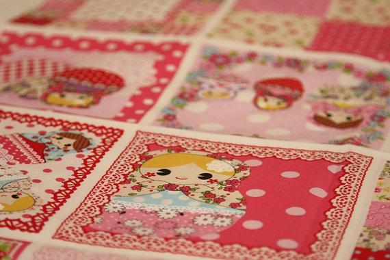 Matryoshka fabric, by Kokka