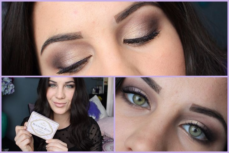 22 best images about too faced 39 s boudoir eyes palette on for Bedroom eyes makeup