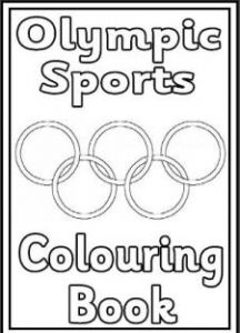 free olympics coloring book printable