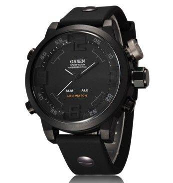 Pánské hodinky OHSEN voděodolné do 30 metrů černé – pánské hodinky Na tento produkt se vztahuje nejen zajímavá sleva, ale také poštovné zdarma! Využij této výhodné nabídky a ušetři na poštovném, stejně jako to udělalo …