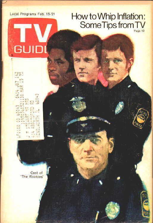TV GUIDE 2-15-1975 Gerald O'Loughlin~The Rookies~Superman~Religion~Chicago Editn
