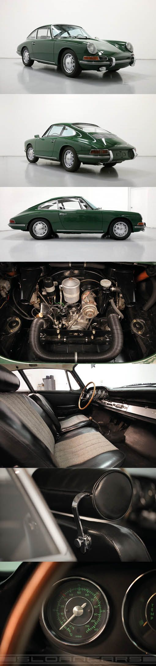 1966 Porsche 912 / Germany / Irish green