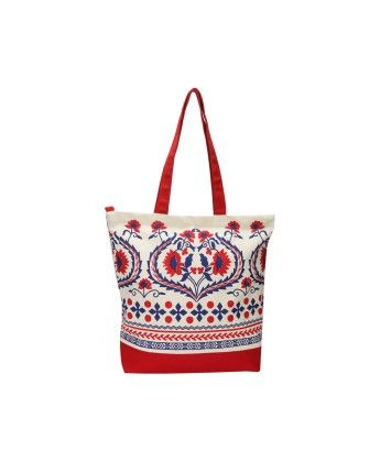 Pick Pocket Red Casual Tote #ohnineone