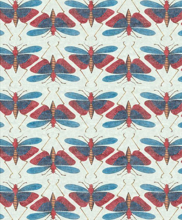 moth pattern - #textile