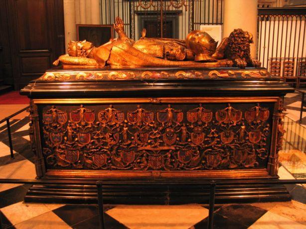 Karl der Kühne. Grab in der Liebfrauenkirche in Brügge