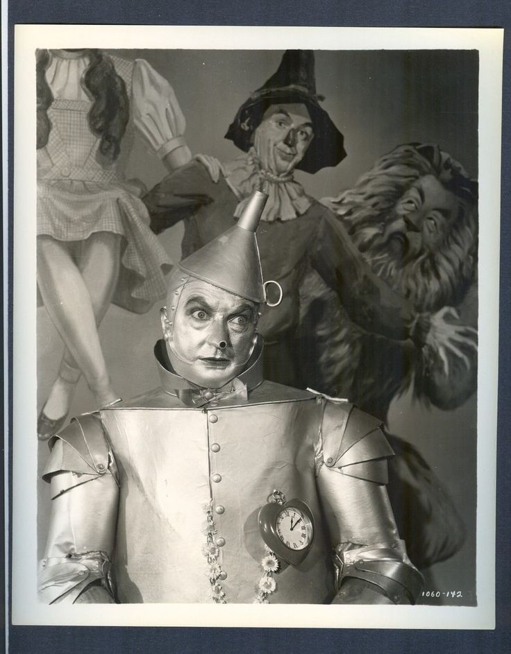 Great Jack Haley as The Tin Man of oz Near Mint Cond Wizard of oz Classic   eBay
