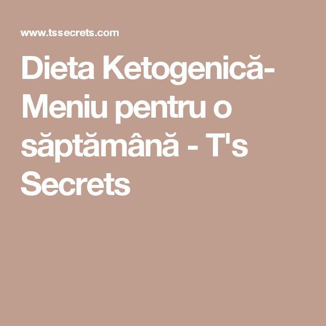 Dieta Ketogenică- Meniu pentru o săptămână - T's Secrets