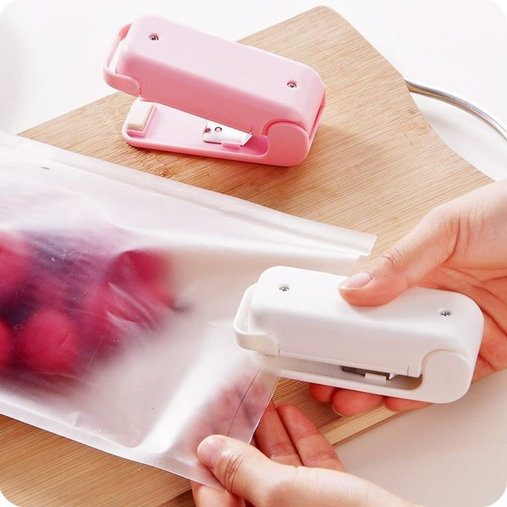 ABS Mini Food Máquina de selagem de calor Plástico Sacos de lixo de impulsos portáteis Selante de sacos de conservação