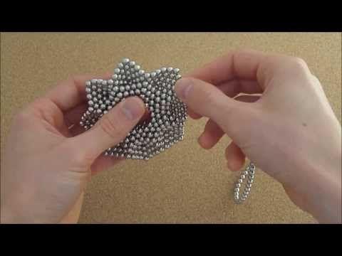 TUTORIAL Octagonal Flower (Zen Magnets) - YouTube