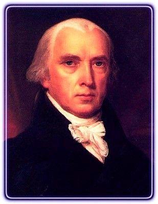 PRESIDENT- JAMES MADISON- FORTH PRES.- 03-04-1809, 03-03-1817