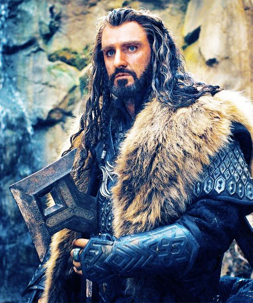 Thorin Oakenshield...I don't know how they did it, but they managed to make a dwarf sexy!