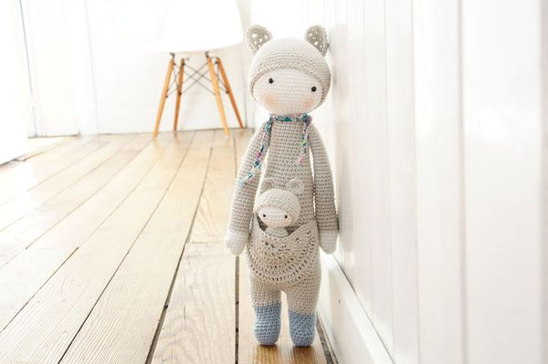 Kira the Kangoroo ♥ The crochet pattern made by laylala (in German or English) can be bought here http://www.etsy.com/shop/lalylala