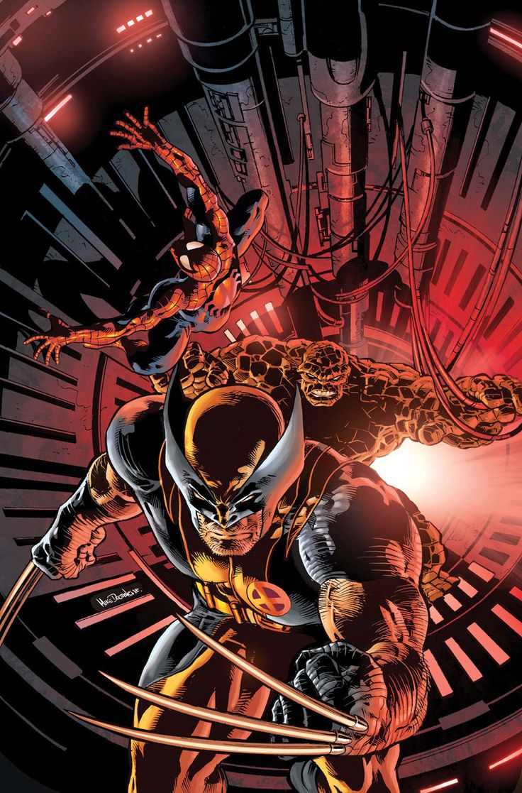 New Avengers #11  by Mike Deodato Jr