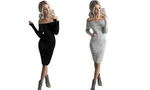 Groupon - Uno o 2 abiti femminili Kiana a spalle scoperte, in varie taglie e 2 colori da 19,90 € (fino a 81% di sconto). Prezzo deal Groupon: €19,90