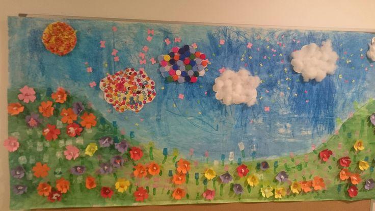 Fresque printemps petite section