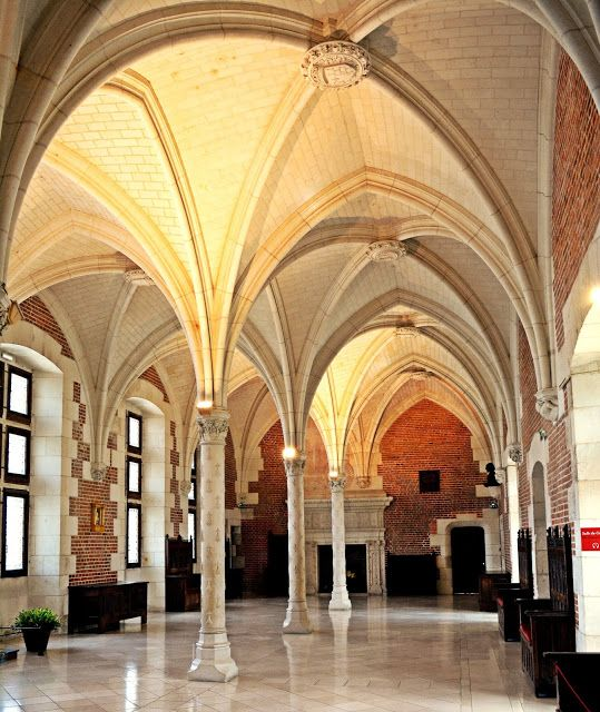 France, Loire Valley - Château d'Amboise VII (Salle des Etats)