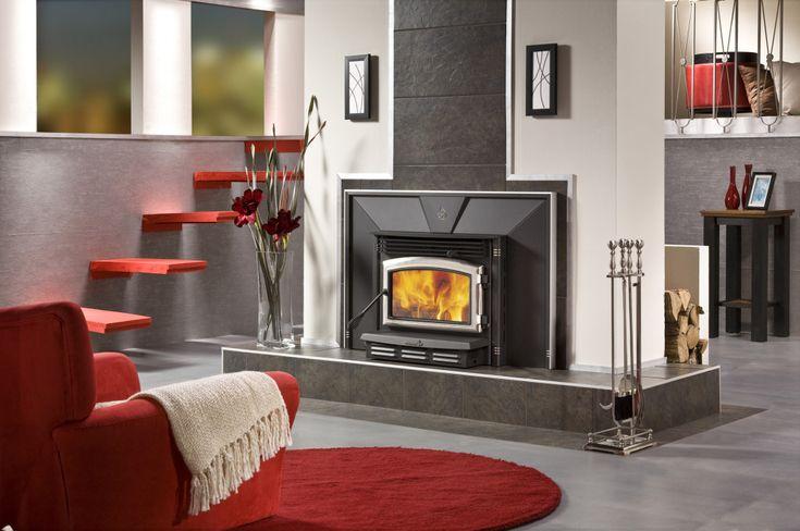 Enerzone Wood Fireplace Insert