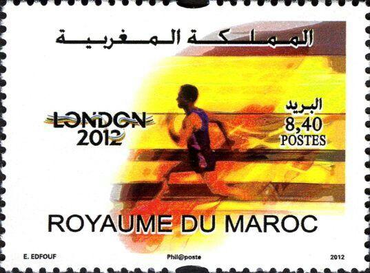Postes Maroc, Jeux olympiques Londre 2012.
