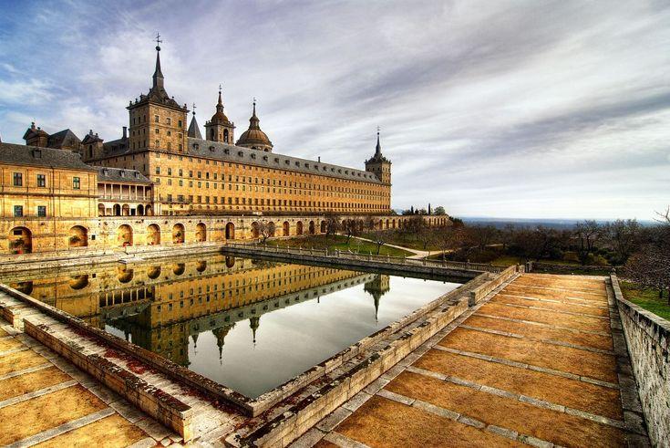 The Royal Monastery, El Escorial, Madrid, Spain