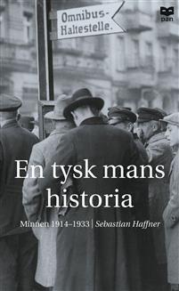 """Sebastian Haffner var en av Tysklands ledande journalister, men skrev också biografier om bland andra Churchill och Hitler. Vid hans bortgång 1999 fann man ett outgivet manuskript. Det visade sig vara en självbiografisk skildring från 1930-talets Tyskland. Haffner berättar framför allt om nazismens framväxt och om hur ett """"normalt"""" samhälle bryts ner och förvandlas till en barbarisk diktatur. En tysk mans historia är ett tidsdokument som har jämförts med Viktor Klemperers berömd..."""