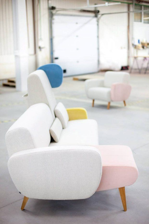 Sofa Teddy Bear project: Santa Wierszyłłowski, manufacturer NOTI - photo POLISH DESIGN