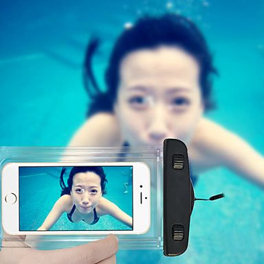 Swimming Phone Pouch 20M Waterproof Phone Bag with Lanyard for iPhone 6/6Plus/5/5S/5C and Others (Assorted Colors) 2016 - $5.99