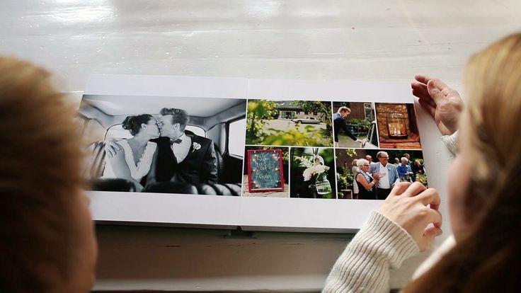 Ontwerp album Studio Citroen. Mon et Mine Trouwalbum FINAO - Kristel & Erik. FINAO wedding album.