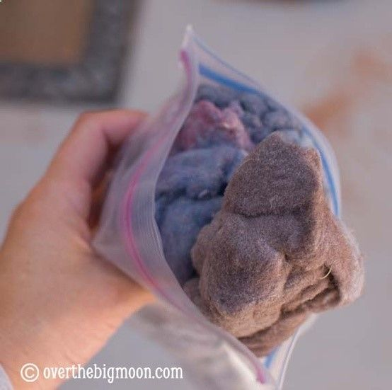 Camping tips  tricks DRYER LINT FOR FIRE STARTER should have thought of this years ago!
