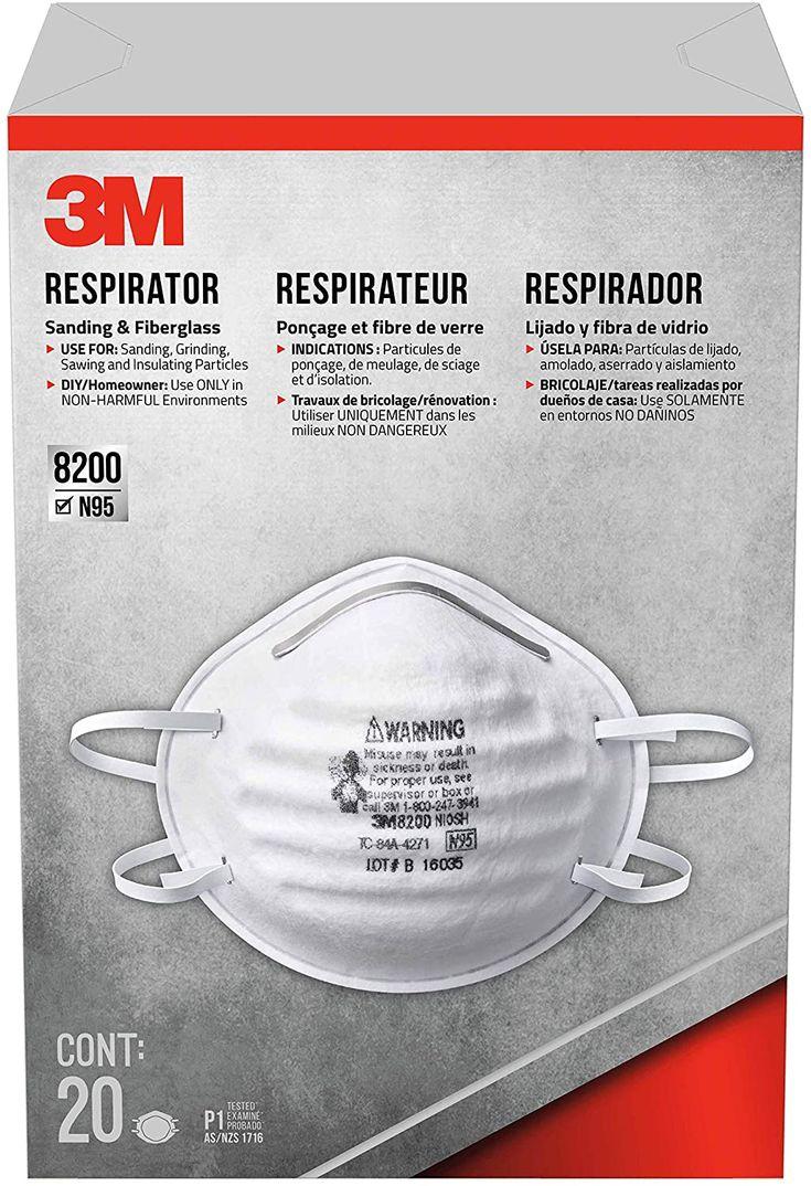 3m 8200hb3a sanding and fiberglass respirator today isn