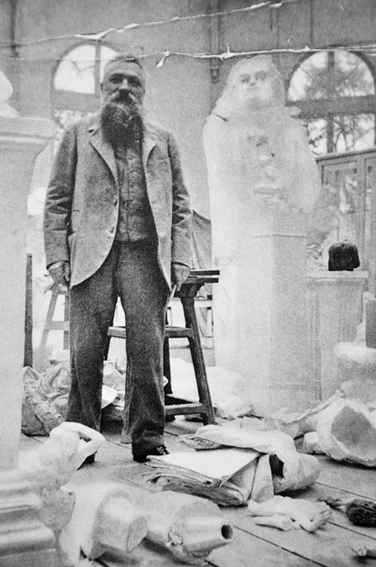 Sculpteur francais Auguste Rodin