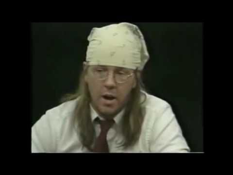 Charlie Rose interviews David Foster Wallace, 1/4 - YouTube