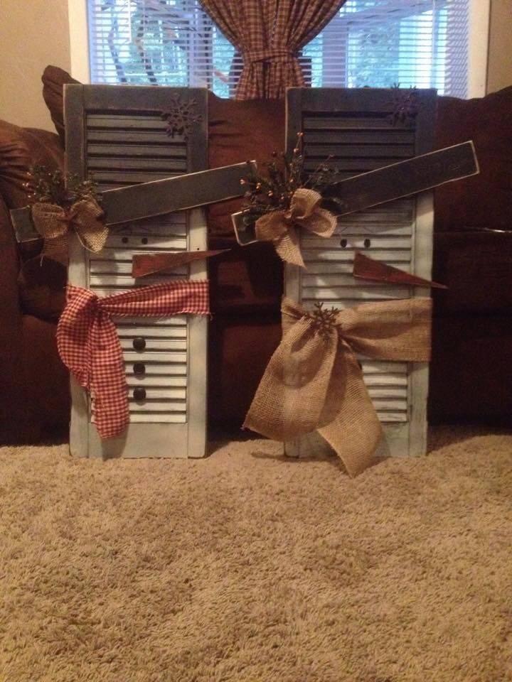 Doing this! Already have four shutters in my carport!!