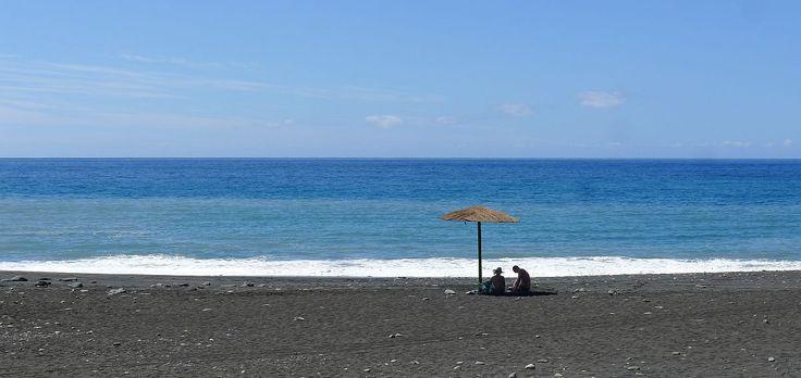 Het strand van Tazacorte
